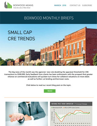 Small-cap CRE market intelligence and insights